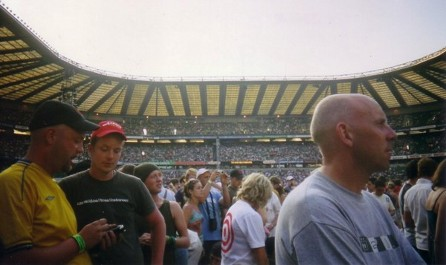Twickenham Stadium crowd